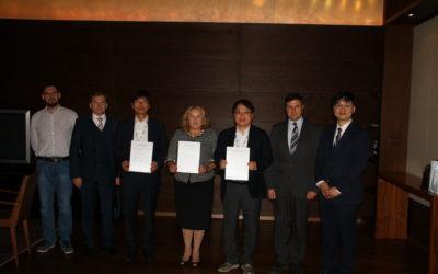 Україна – Корея: підписання Меморандуму про взаєморозуміння між асоціаціями телеком-індустрії